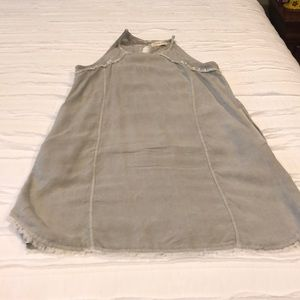 Cloth & Stone gray sleeveless dress